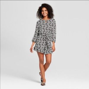 Who What Wear Romper with ruffled shorts. XL